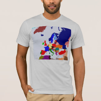 Map of Europe T-Shirt