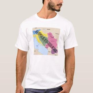 MAP OF FORMER YUGOSLAVIA T-Shirt