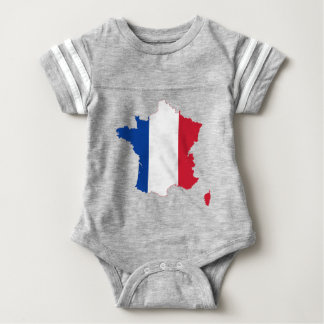 map-of-france-1290790 baby bodysuit