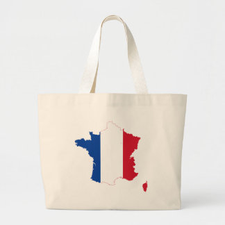 map-of-france-1290790 large tote bag