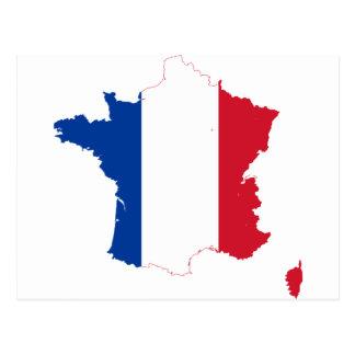 map-of-france-1290790 postcard