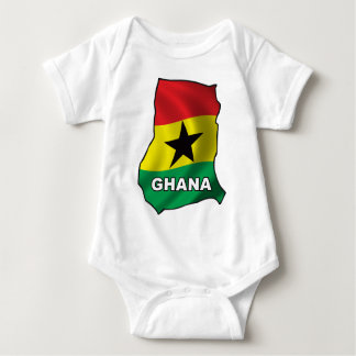 Map Of Ghana Baby Bodysuit
