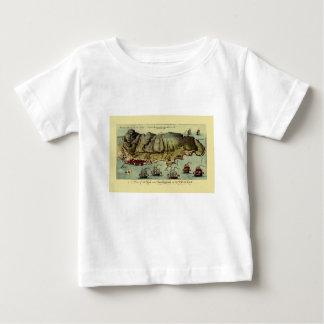 Map Of Gibraltar 1765 Baby T-Shirt