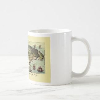 Map Of Gibraltar 1765 Coffee Mug