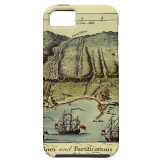 Map Of Gibraltar 1765 iPhone 5 Cover