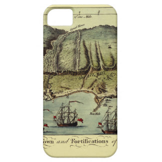 Map Of Gibraltar 1765 iPhone 5 Covers