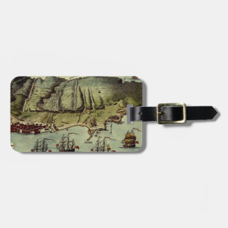 Map Of Gibraltar 1765 Luggage Tag