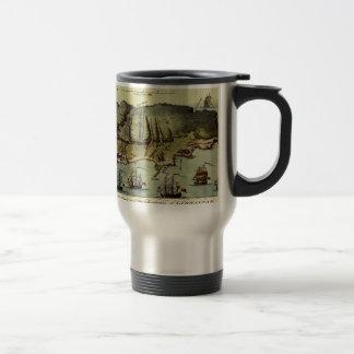 Map Of Gibraltar 1765 Travel Mug