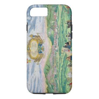 Map of Granada, from 'Civitates Orbis Terrarum' by iPhone 7 Case