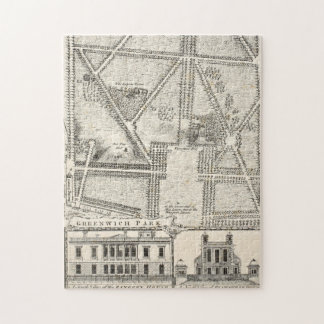 Map of Greenwich Park Jigsaw Puzzle