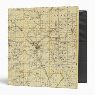 Map of Hamilton County 3 Ring Binder