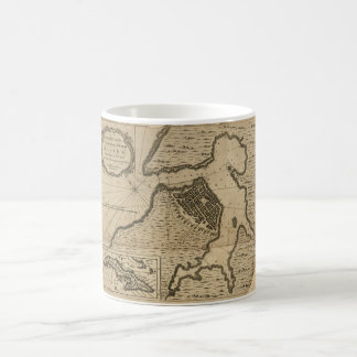 Map of Havana, Cuba (1762) Coffee Mug