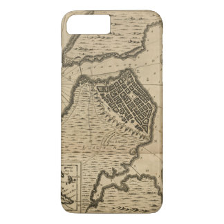 Map of Havana, Cuba (1762) iPhone 8 Plus/7 Plus Case