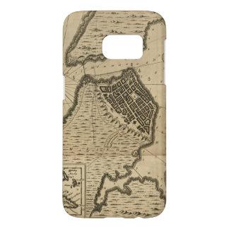 Map of Havana, Cuba (1762) Samsung Galaxy S7 Case