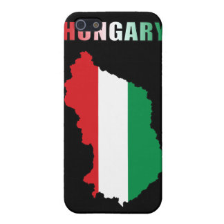 Map Of Hungary iPhone 5 Cases