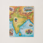 Map of India Jigsaw Puzzle