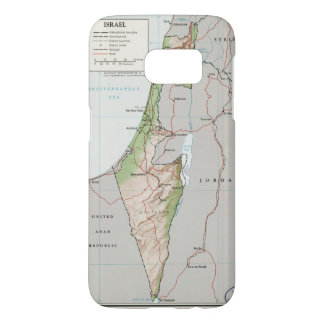 Map of Israel (1967) Samsung Galaxy S7 Case