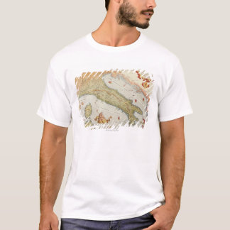 Map of Italy in 1500 T-Shirt