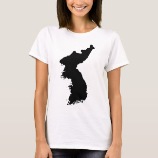 Map of Korea T-Shirt