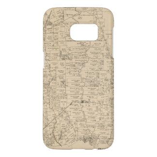 Map of Liberty County, Texas (1879) Samsung Galaxy S7 Case
