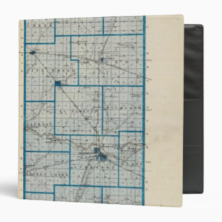 Map of Madison County 3 Ring Binders