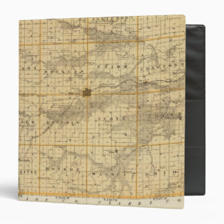 Map of Madison County, State of Iowa 3 Ring Binder