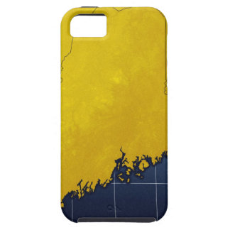 Map of Maine iPhone 5 Cover