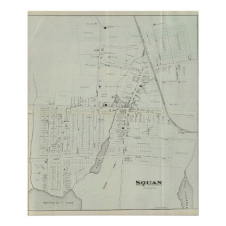 Map of Manasquan, New Jersey Poster