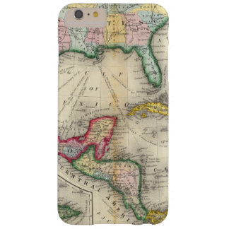 Map Of Mexico, Central America Barely There iPhone 6 Plus Case