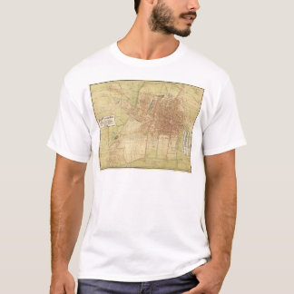 Map of Mexico City from 1907 T-Shirt