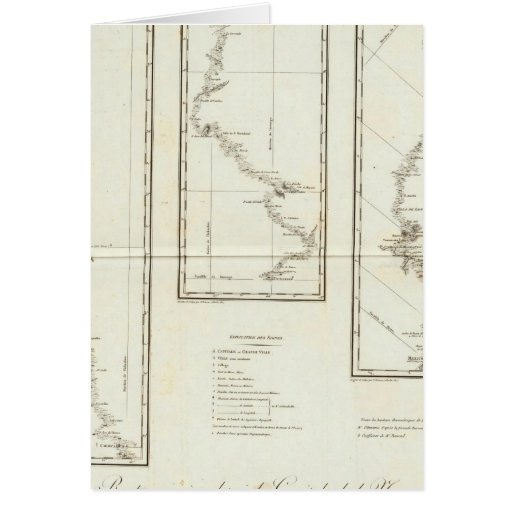 Map of Mexico City to Santa Fe New Mexico Cards