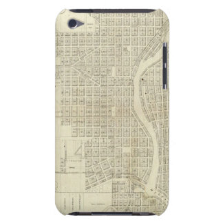Map of Milwaukee Barely There iPod Cover