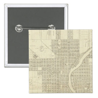 Map of Milwaukee Buttons