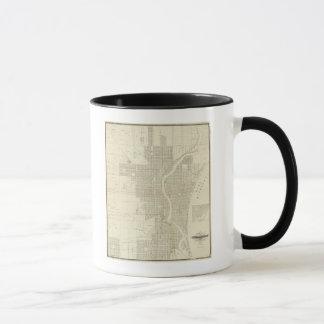Map of Milwaukee Mug