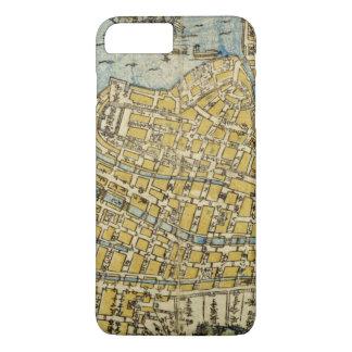 Map of Nagasaki iPhone 8 Plus/7 Plus Case