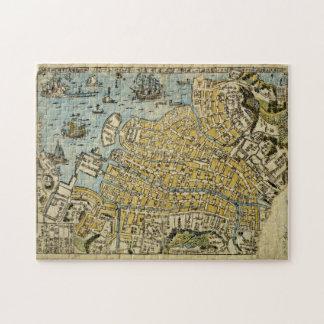 Map of Nagasaki Jigsaw Puzzle