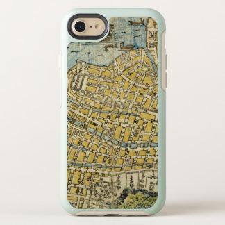 Map of Nagasaki OtterBox Symmetry iPhone 8/7 Case