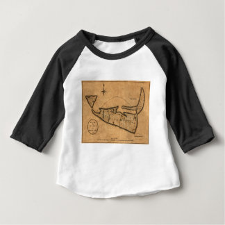 Map of Nantucket 1782 Baby T-Shirt