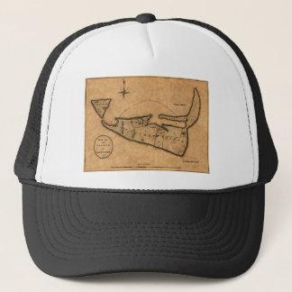 Map of Nantucket 1782 Trucker Hat
