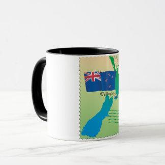 Map Of New Zealand Mug