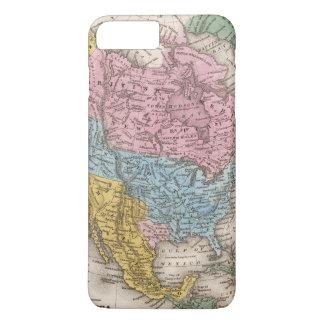 Map of North America 2 iPhone 7 Plus Case
