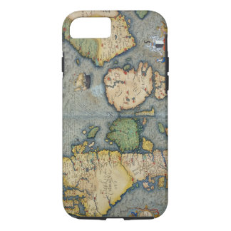 Map of Northern Europe, from 'Civitates Orbis Terr iPhone 7 Case