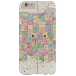 Map of Ohio And Indiana Barely There iPhone 6 Plus Case