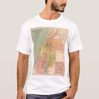 Map of Palestine in Time of Christ (to 70 A.D.) T-Shirt