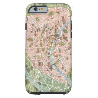 Map of Paris iPhone 6 case