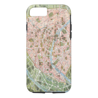 Map of Paris iPhone 7 case