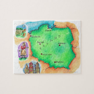 Map of Poland Jigsaw Puzzle