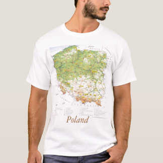 Map of Poland T-Shirt