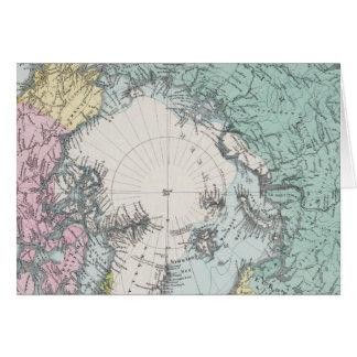 Map of Polar Seas Card