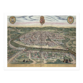 Map of Seville, from 'Civitates Orbis Terrarum' by Postcard